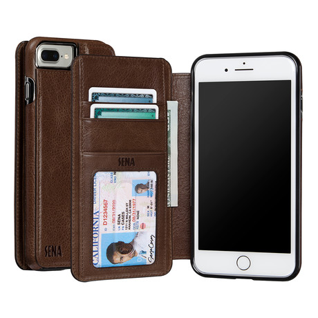 Wallet Book // Praline