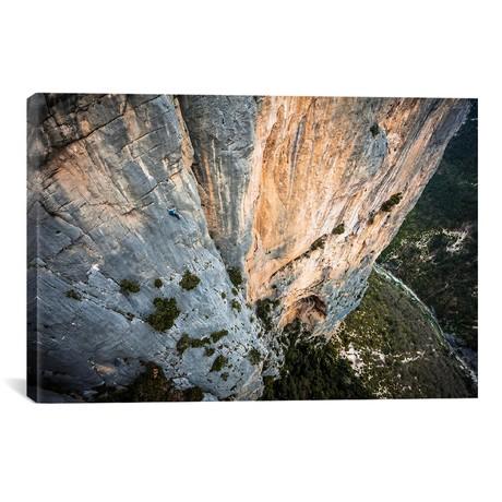 Freesolo Climb, Durandal, Gorges du Verdon, Alpes-de-Haute-P // Alex Buisse