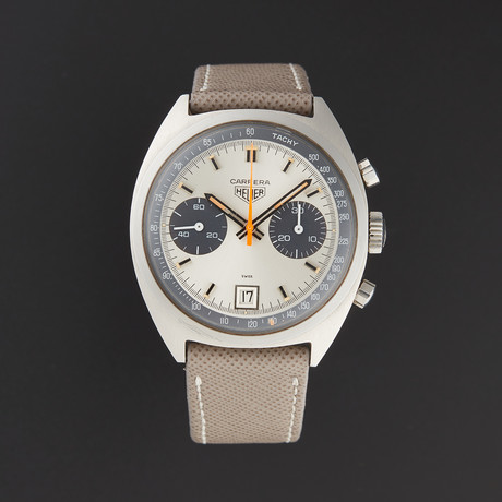 Tag Heuer Vintage Carrera Chronograph Manual Wind // Pre-Owned