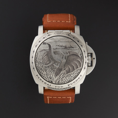 Panerai Luminor Purdey Sealand Automatic // PAM00814 // Pre-Owned