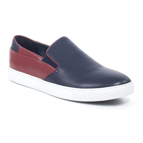 Goya Color Block Slip On // Blue