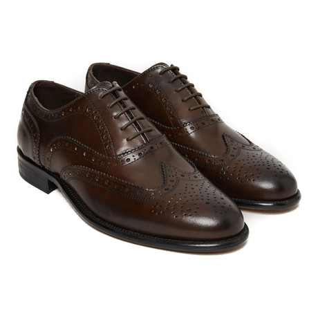 Collin Wing Cap Oxford // Dark Brown (Euro: 40)