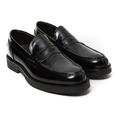 Kenyon Penny Loafer // Black (Euro: 40)