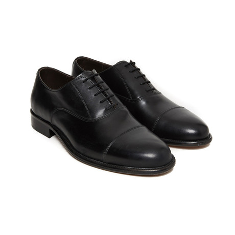 Dale Toe Cap Oxford // Black (Euro: 40)