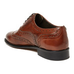 Roger Wing Cap Oxford // Brown (Euro: 40)