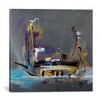 "Venetian Nights // Michael Goldzweig (12""W x 12""H x 0.75""D)"