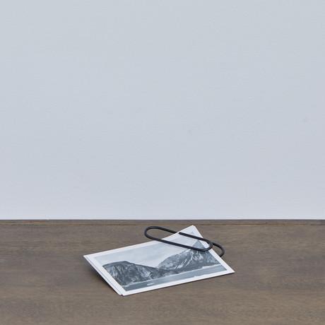 Oversized Paperclip // Matte Black