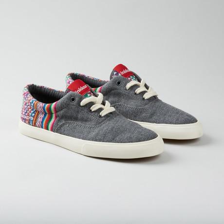 Slate Oxford // Grey + Multi