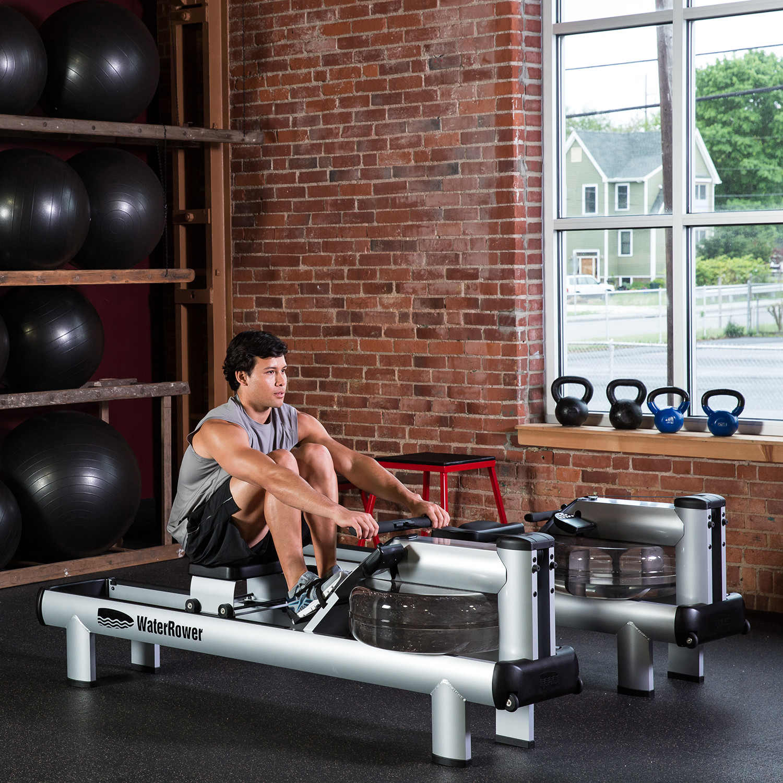 WaterRower M1 (HiRise) - WaterRower Rowing Machines - Touch