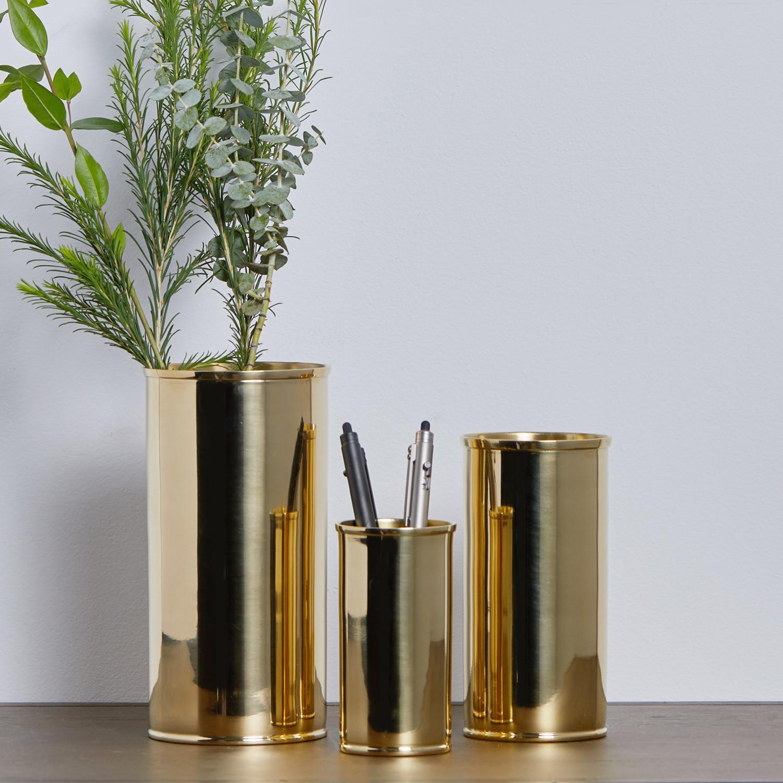Brass vase small nordstjerne touch of modern brass vase reviewsmspy