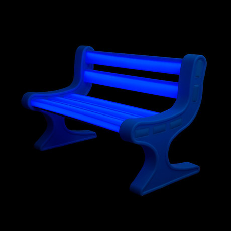 LED LightUp Garden Bench             (Green)