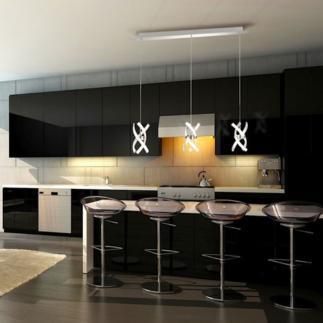 Austin 3 Light Kitchen Island Pendant