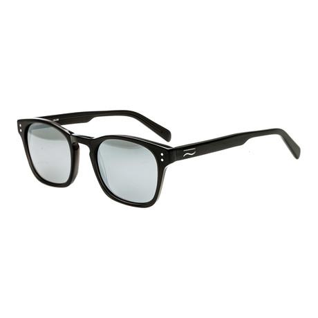 Bennett Polarized Sunglasses (Black Frame + Black Lens)