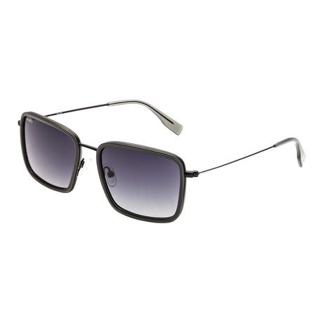 Parker Polarized Sunglasses (Black Frame + Black Lens)
