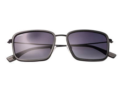Photo of Simplify Retro-Inspired Sunglasses Parker // Grey Frame + Black Lens by Touch Of Modern