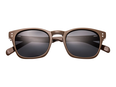 Photo of Simplify Retro-Inspired Sunglasses Bennett // Brown Frame + Black Lens by Touch Of Modern