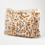 """Leopard Pillow // Pearl (18""""L x 18""""W)"""