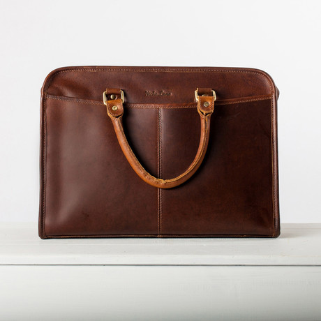 Loxley Briefcase // Coffee