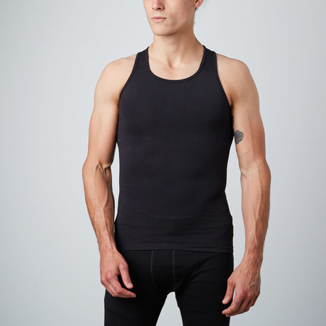 Compression Tank Top // Black (S)