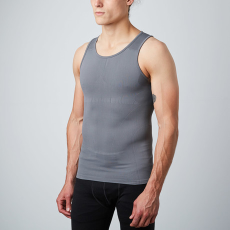 Compression Tank Top // Grey (S)