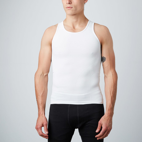 Compression Tank Top // White (S)