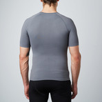 Compression Short-Sleeve Shirt // Grey (S)