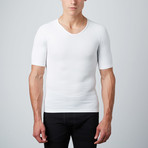 Compression Short-Sleeve Shirt // White (S)
