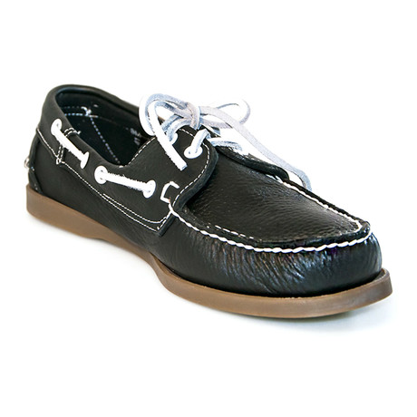 Juan Boat Shoe // Navy Blue