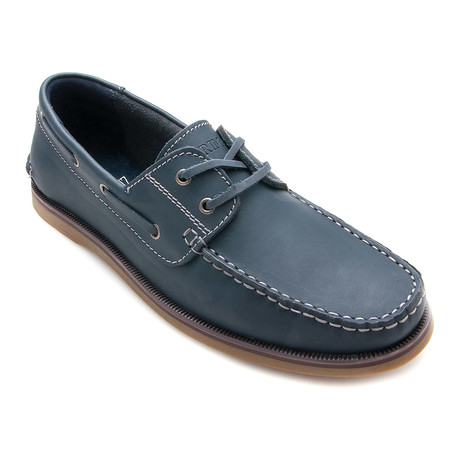 Artiz Boat Shoe // Navy Blue