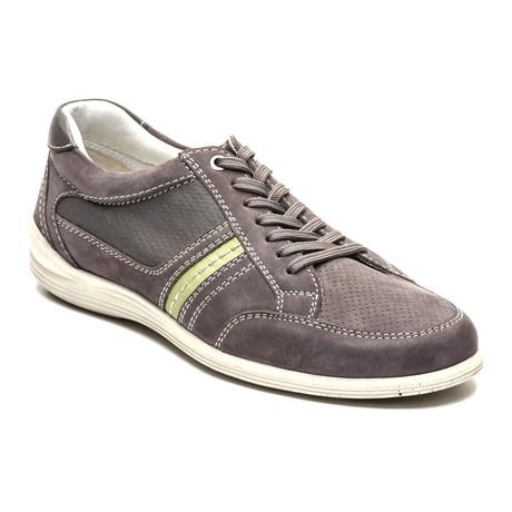 Jordi Boat Shoe // Grey