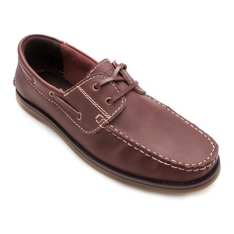 Artiz Boat Shoe // Brown