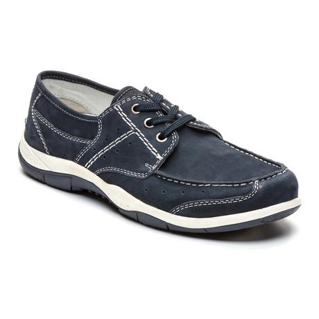 Pedro Boat Shoe // Navy Blue