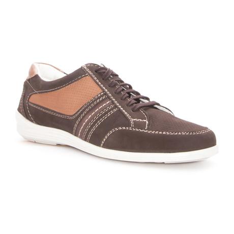 Jordi Boat Shoe // Brown, Camel