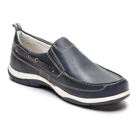 Isco Loafer // Navy Blue