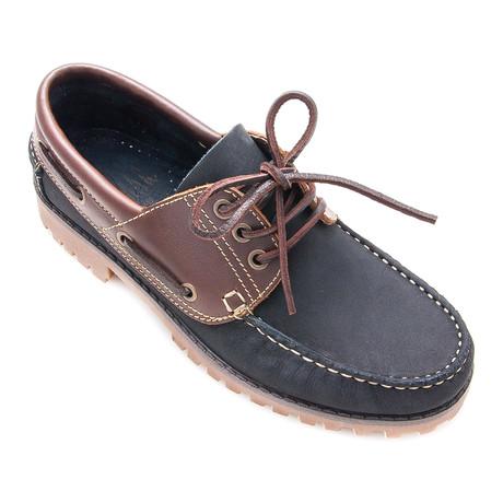 Adrian Boat Shoe // Navy Blue