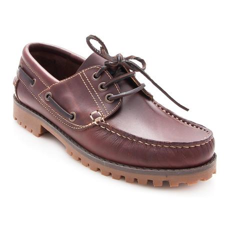 Adrian Boat Shoe // Brown