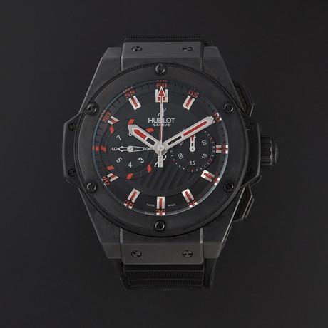 Hublot King Power Foudroyante Black Magic Automatic // 715.CL.1123.RX // Pre-Owned