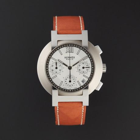Hermes Nomade Chronograph Quartz // NO1.910 // Pre-Owned