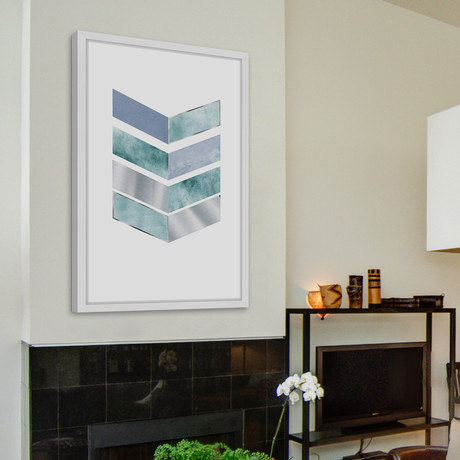 Corner Prism // Framed Painting Print