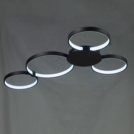 Capella // Tunable White Ceiling Fixture // Black