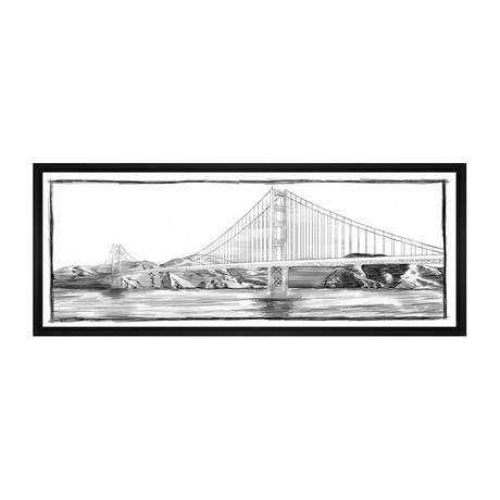 Golden Gate Bridge // Sketch