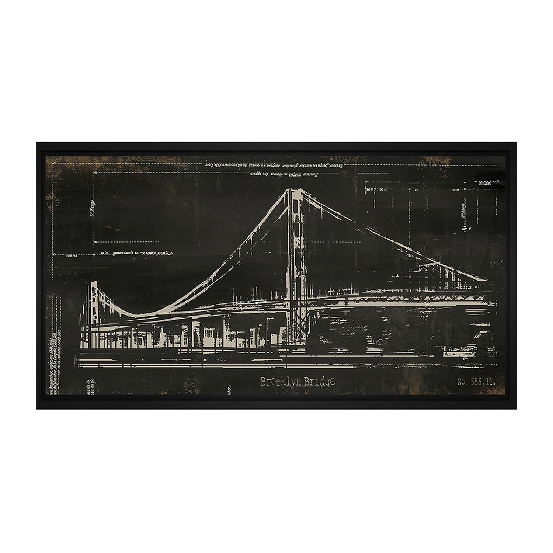 Brooklyn bridge architectural drawing architectural blueprints brooklyn bridge architectural drawing malvernweather Images