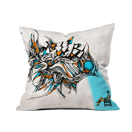 Opening // Throw Pillow
