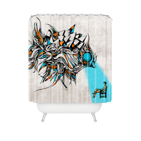 Opening // Shower Curtain