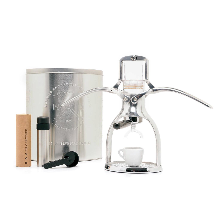Touch Of Modern Espresso Maker ~ Rok espresso machine silver touch of modern