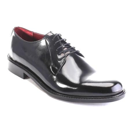 Aadir Plain Toe Derby // Black