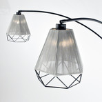 Polygon 3 Light // Arc Lamp