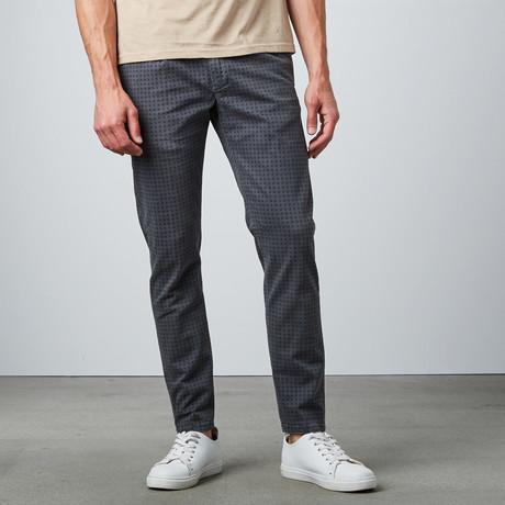 No Lab Clothing // Shanghai Printed Chino // Grey Box