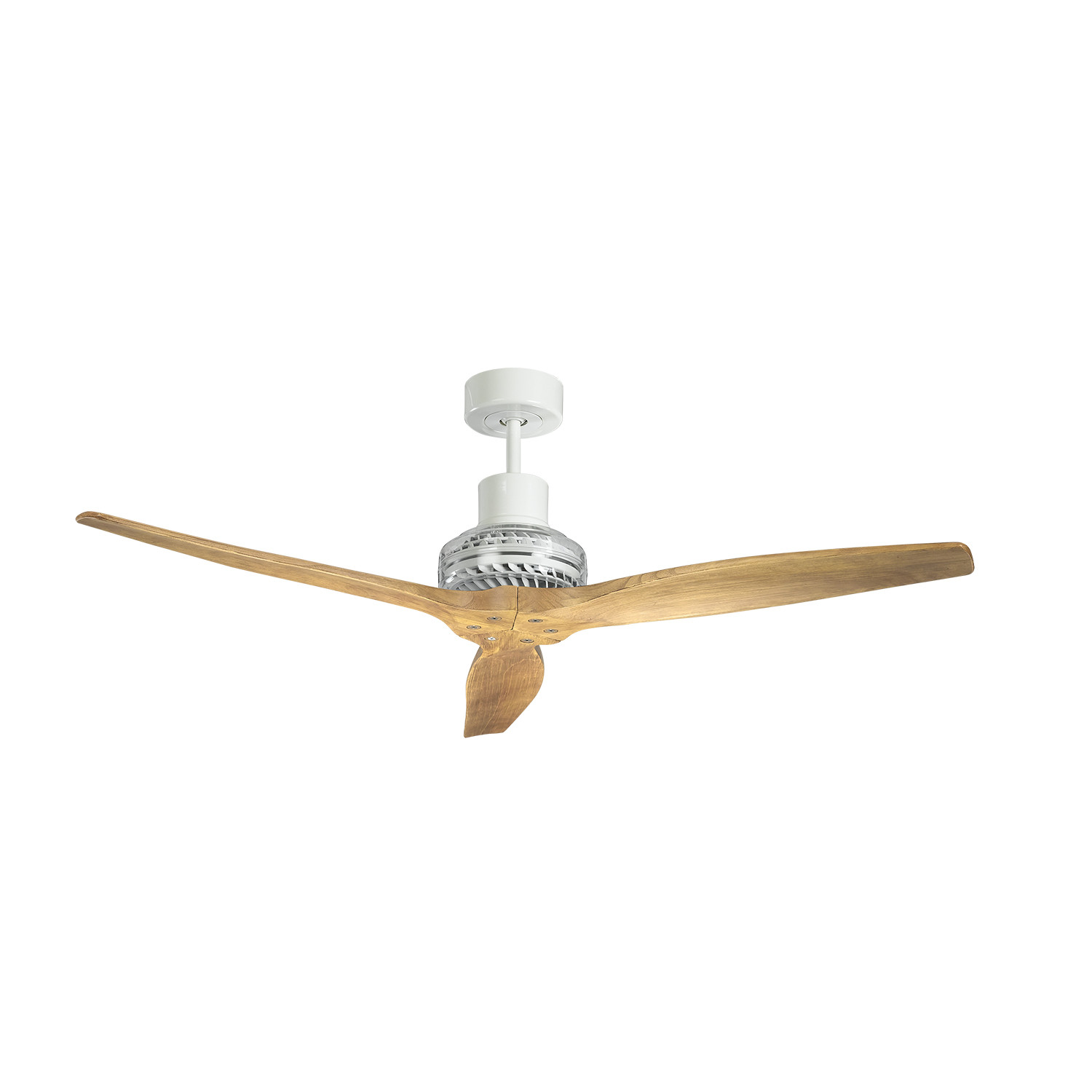Propeller Blade Ceiling Fans : White star propeller ceiling fan motor graphite blade