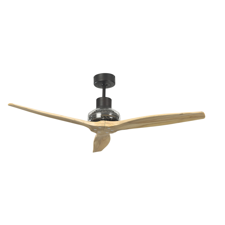 Propeller Ceiling Fan White : Venge star propeller ceiling fan motor bleached blade